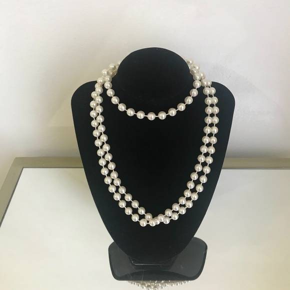 Long Pearl Neacklace 48 inches